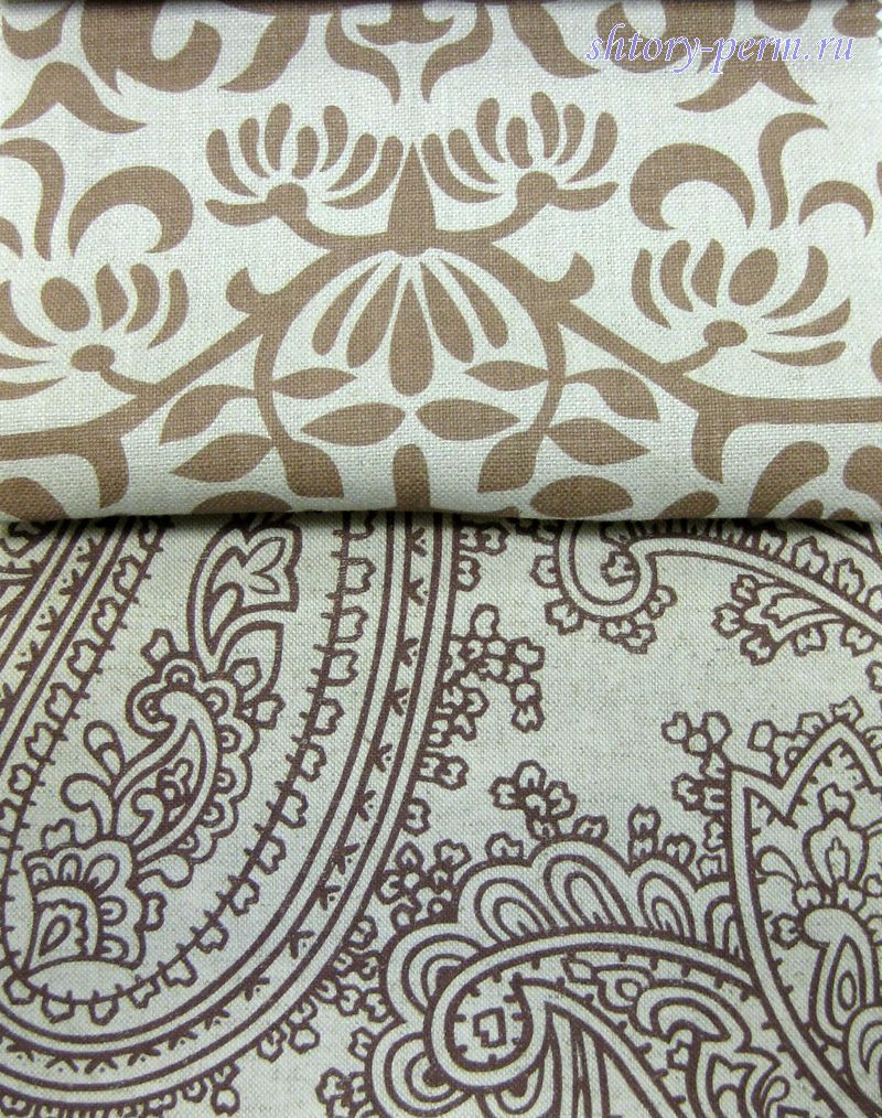 Ткани для штор с фото рисунком