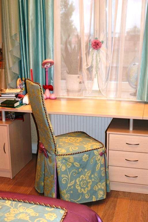 Чехол на стул для детской своими руками 746
