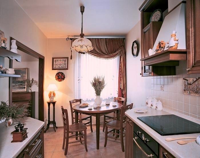 Шторы для кухни столовой